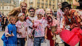 La caminata se realiza todos los años en Buenos Aires y Córdoba. Foto Zombie Walk Argentina.