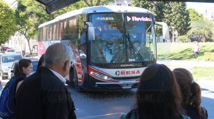 Aumenta el boleto para viajar entre Paraná y Santa Fe