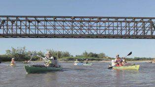 Se realizará la primera travesía en kayak por el Corredor Río Gualeguay