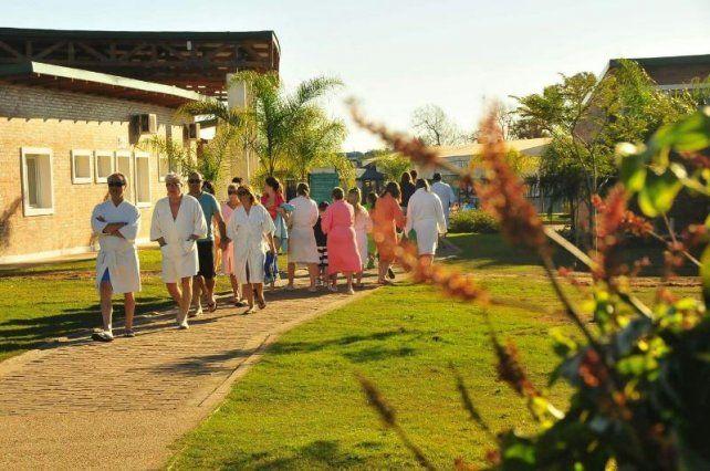 Las termas entrerrianas vuelven a convocar a los turistas.