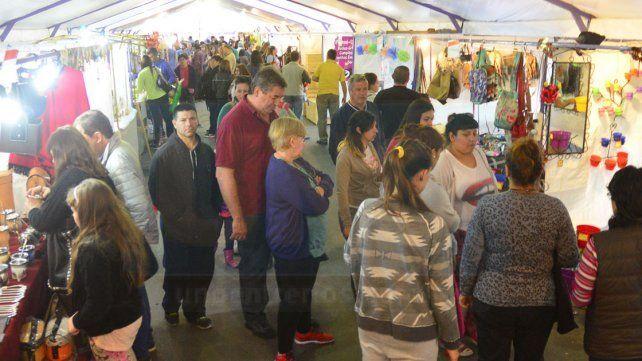 Propuesta. Hay unos 160 emprendedores de Paraná y de alrededores