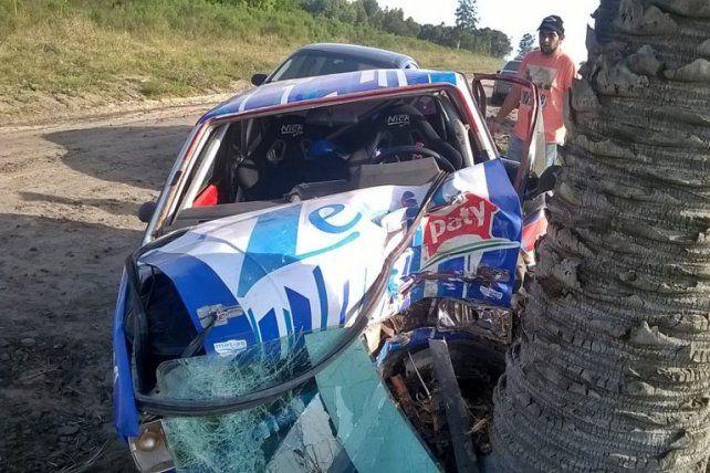 Falleció el copiloto accidentado en el autódromo de Concordia