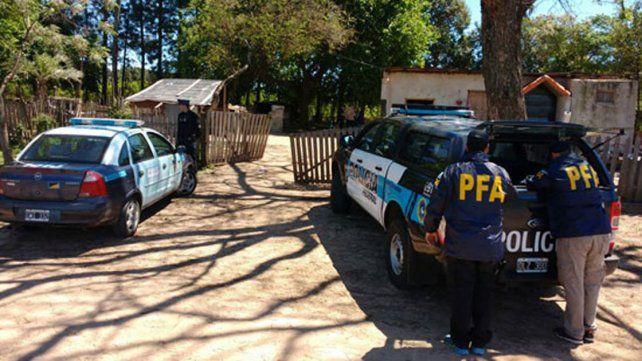 Desbarataron la banda de Caudana tras decenas de allanamientos