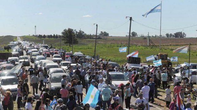La Asamblea Ciudadana Ambiental Gualeguaychú volverá a la ruta este lunes