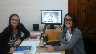 Especialistas. Las psicopedagogas Magdalena López y Fabiola Iglesia.