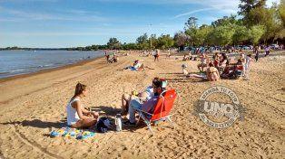 Casi verano en las playas de Colón