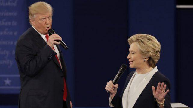 Trump y Hillary protagonizaron el debate más virulento de la historia reciente