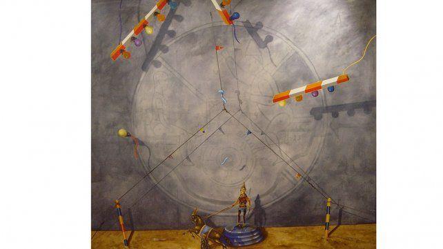 Creador. La obra de Zelaya es reconocida a nivel internacional.