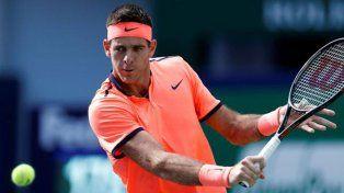 Juan Martín del Potro fue derrotado por el belga Goffin y se retiró del ATP de Shanghai