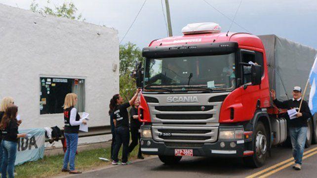 Consigna. En Gualeguaychú le dijeron no al proyecto oficial.