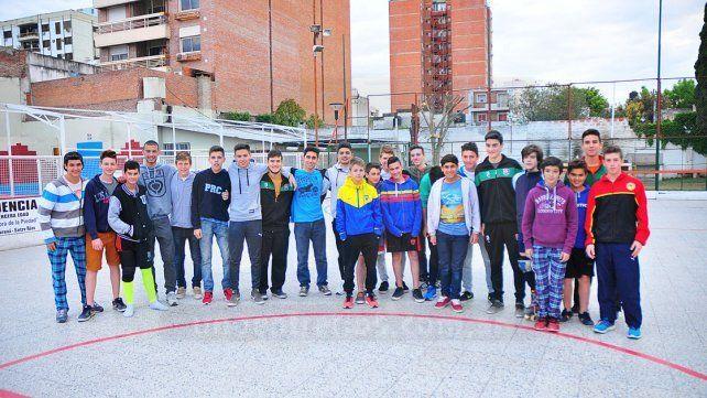 En Varones. La Unión Entrerriana dispondrá de tres equipos para jugar la parte masculina de la competencia nacional.