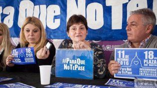#ParaQueNoTePase: la marcha contra la inseguridad que se hará este martes