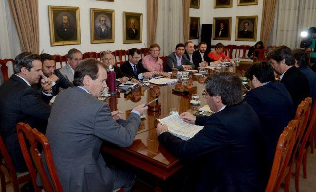Bordet buscará el consenso de los legisladores para el Presupuesto