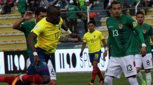 Bolivia y Ecuador empataron en La Paz