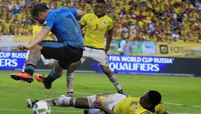 Colombia encontró el empate en el final