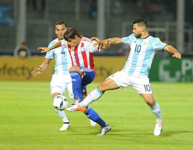 Paraguay le dio un duro golpe a Argentina