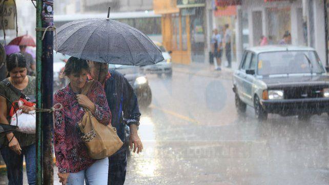 Rige un doble alerta meteorológico para la provincia de Entre Ríos