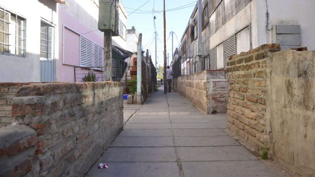 Temor. En el barrio de la zona este no quieren más balaceras.