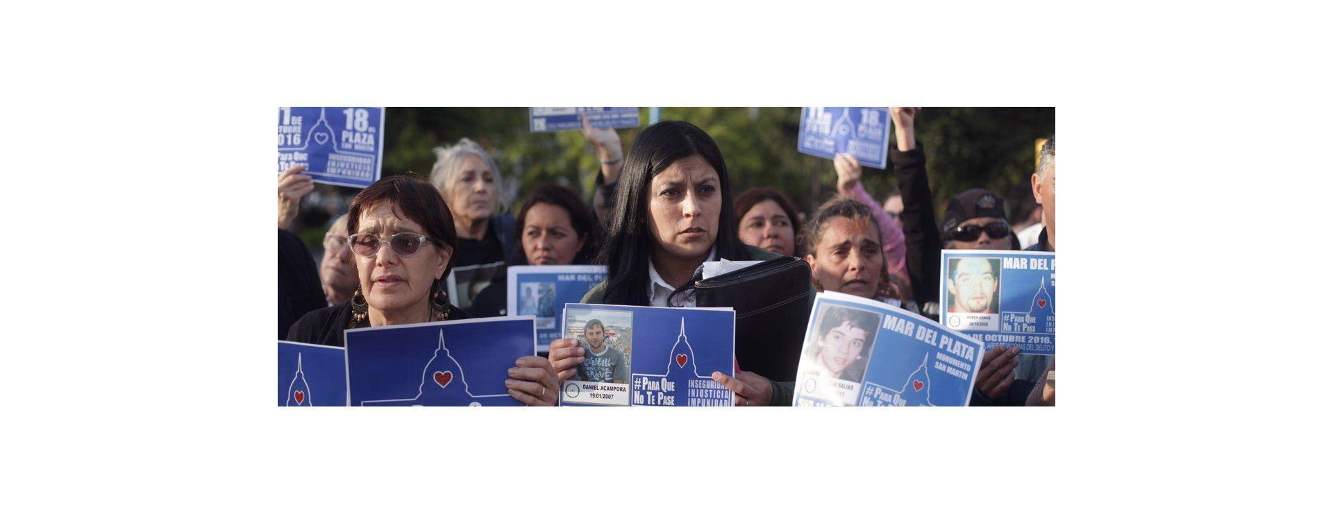 Miles de personas marcharon contra la inseguridad bajo la consigna #ParaQueNoTePase