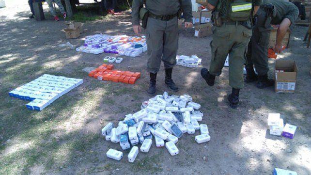 Incautaron en la ruta nacional 14 un contrabando valuado en 12 millones de pesos