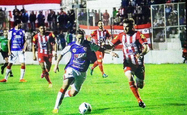 San Martín dejó con las manos vacías a Atlético Paraná