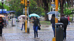 Jornada con lluvias y tormentas fuertes en la provincia