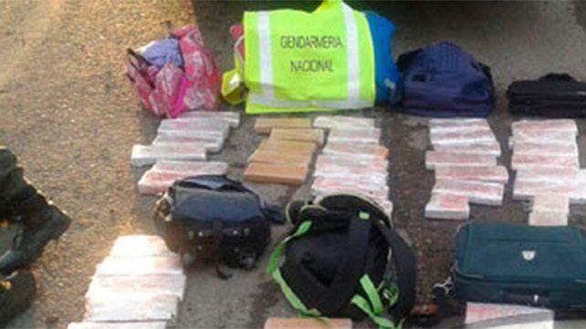 Secuestraron 42 kilos de marihuana en la ruta nacional 12