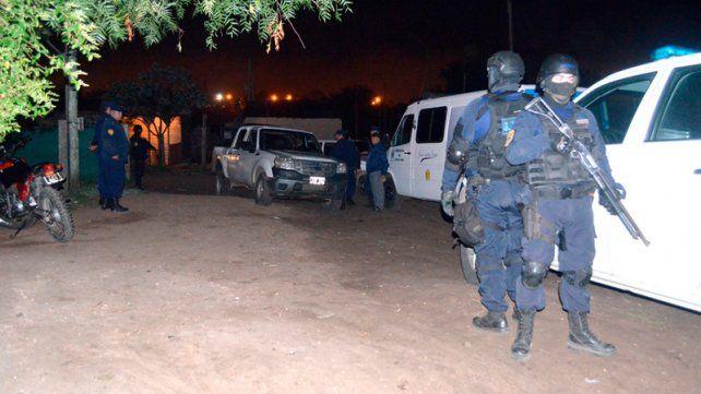 Incautaron cocaína y armas de fuego en Concepción del Uruguay