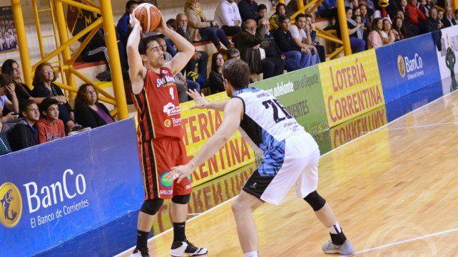 El equipo correntino contó con el paranaense Juan Cantero.