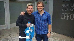 El goleador de Los Pumas se emocionó al conocer a Messi