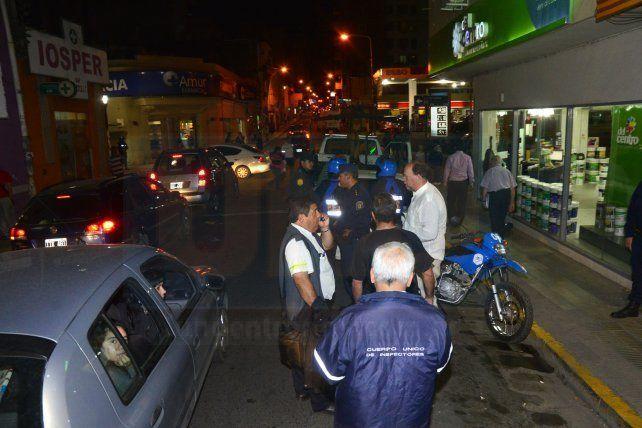 Graves incidentes en un nuevo control de transporte