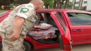 La Dirección Prevención Delitos Rurales decomisó más de 200 kg de carne porcina