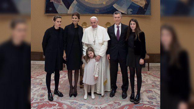 Macri se reunió con el Papa y dijo que tuvieron una larga charla sobre lo que pasa en la Argentina y en el mundo