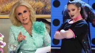 Mirtha Legrand aclaró la polémica con Ángela Torres