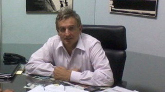 Soldado de Perón. Righelato es un viejo afiliado del peronismo.