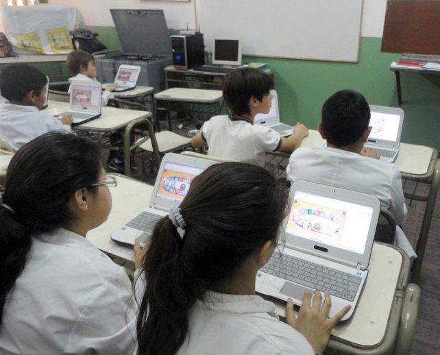 En la provincia el 90% de las escuelas rurales tiene tecnología digital