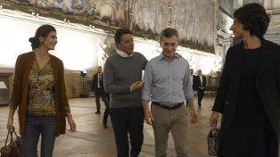 Macri cenó con Renzi antes de asistir a la canonización de Brochero