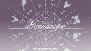 El horóscopo para este domingo 16 de octubre