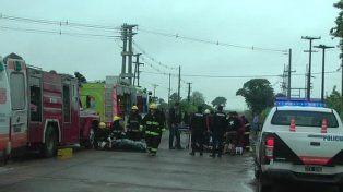Volcó un micro que volvía de un recital de La Renga y hubo más de 50 heridos