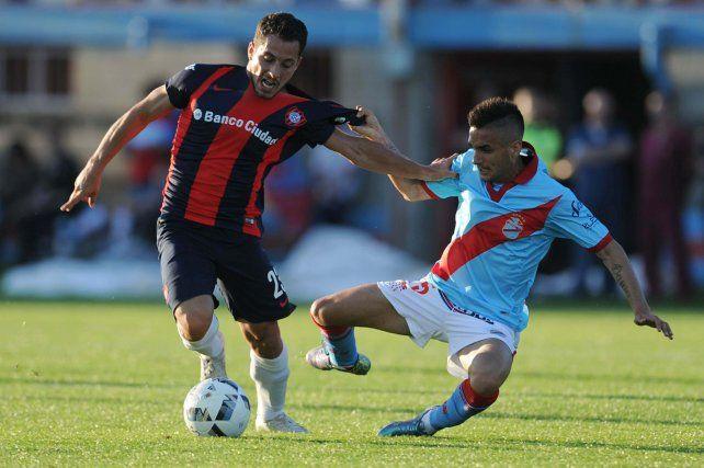 San Lorenzo bailó al ritmo de Cauteruccio