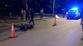 Confirmaron la identidad del motociclista que murió tras impactar contra una columna