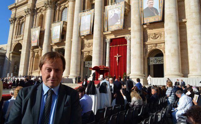 Varisco se entrevistó con Macri en la canonización del Cura Brochero