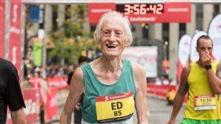 El veterano Ed Whitlock no deja de romper récord