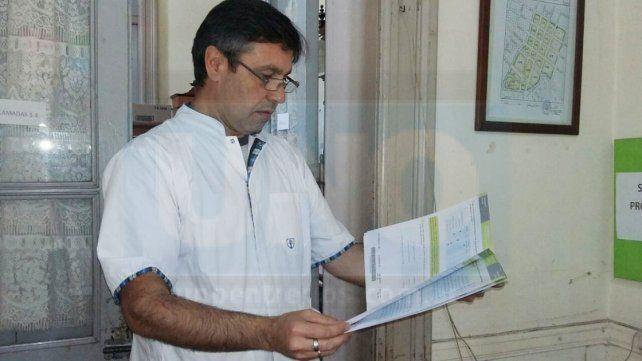Director de laEscuela 24 de Mayo.