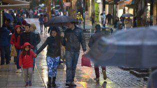 Jornada con lluvias y tormentas y vientos fuertes con ráfagas