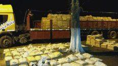 la duena de un camion que viajaba con mas de dos toneladas de marihuana es sobrina de gildo insfran
