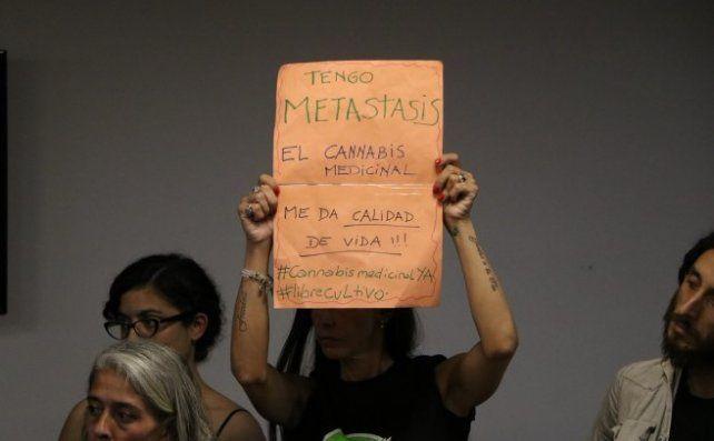 Dictamen en Diputados al proyecto para permitir el uso de cannabis para tratamientos médicos