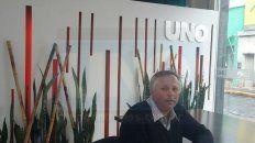 Puntín estuvo en la Redacción de UNO