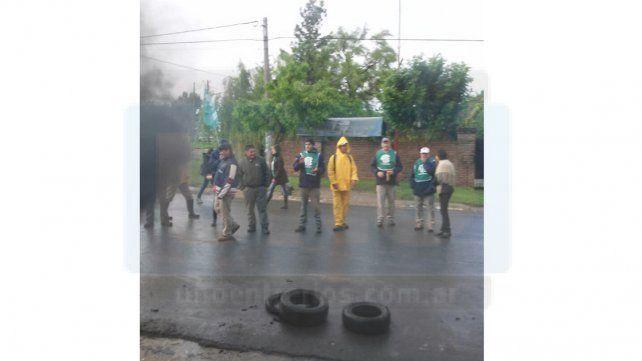 Municipales de Colonia Avellaneda piden aumentos y pases a planta