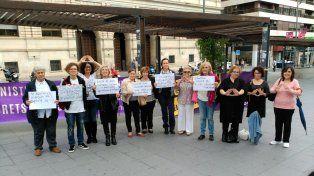 El paro contra la violencia y el femicidio tuvo adhesión en España